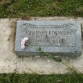 Johannah Hokansson nee Larsdotter  16 Dec 1854 - 19 Mar 1951 (my gg-grandmother)