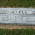 Orville S Maple & Elizabeh C Maple nee Murray